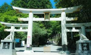 三峯神社, 秩父, 三ツ鳥居