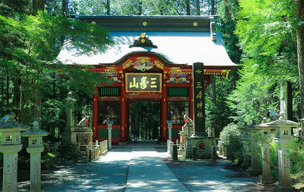 三峯神社, 埼玉県, 秩父, 随身門