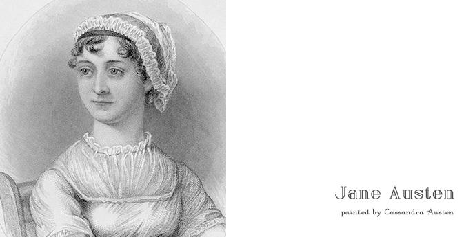 ジェーン・オースティン, ジェイン・オースティン, Jane Austen, ノーサンガー・アビー, Northanger Abbey, ノーサンガー・アベイ, Cassandra Austen, カッサンドラ, 肖像画