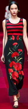 Вышивка на одежде дизайнеров DOLCE & GABBANA