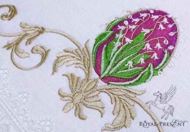 Дизайн для машинной вышивки Яйцо Фаберже