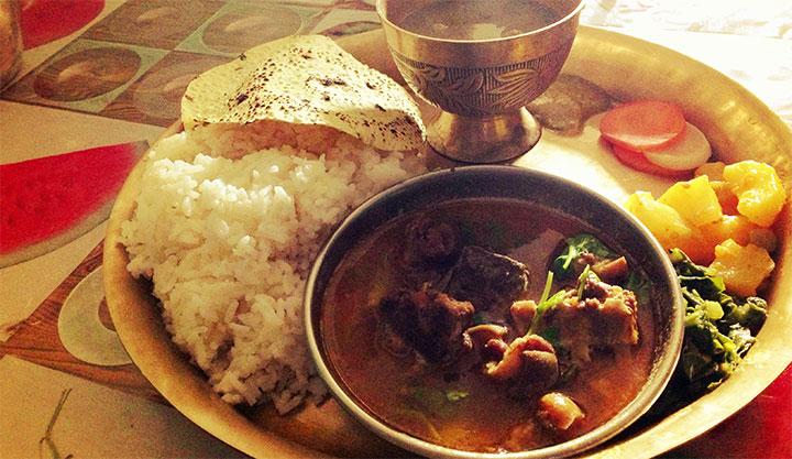 ネパールの食べ物