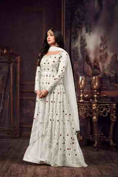 luminous-white-color-heavy-net-embroidered-stone-work-sharara-suit