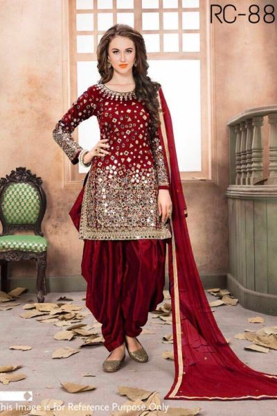 extreme-real-mirror-work-party-wear-red-color-patiyala-suit