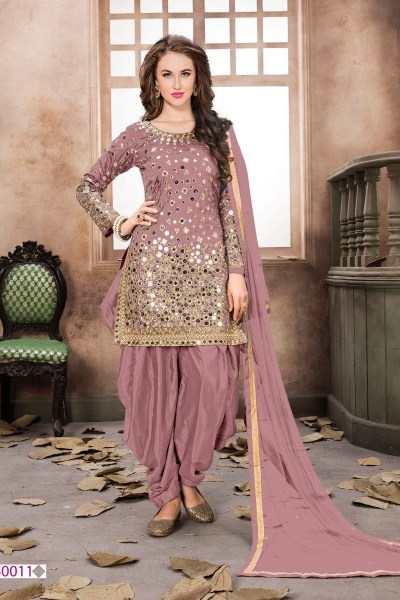 extreme-light-pink-mirror-work-party-wear-red-color-patiyala-suit