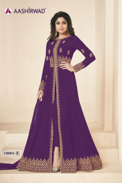 gracious-purple-color-heavy-georgette-embroidery-work-long-length-suit