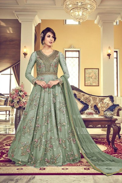treasured-olive-green-heavy-net-with-embroidery-cording-stone-work-suit