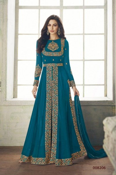 ceremonial-sky-blue-color-heavy-georgette-embroidery-work-long-length-suit