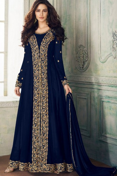 dashing-wine-blue-color-heavy-georgette-embroidery-work-long-length-suit