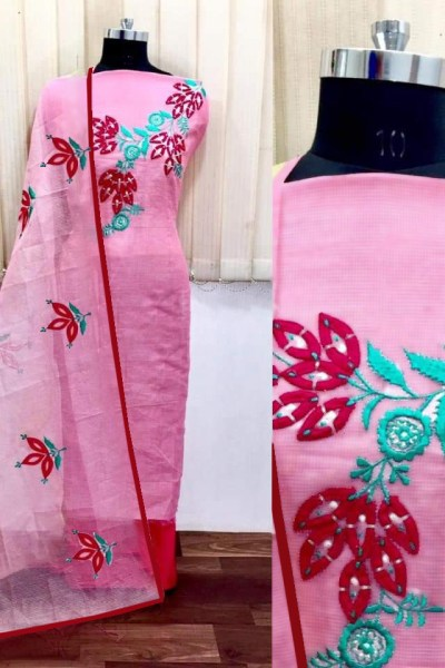 pink-color-heavy-modals-silk-festival-wear-dress-material