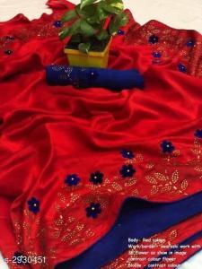 effective-red-color-zoya-silk-with-swaroski-diamond-work-border-saree