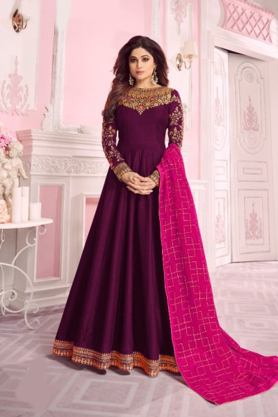 harmonious-purple-color-pure-dola-silk-exclusive-festival-wear-anarkali-suit