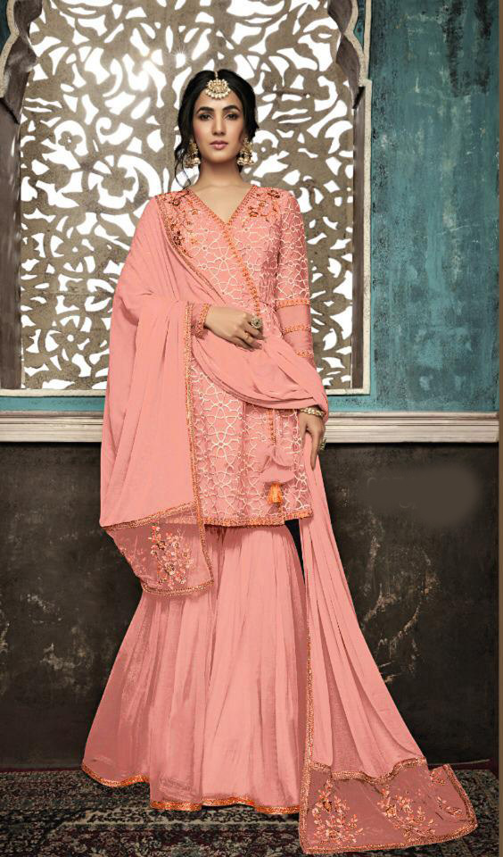 orange-color-mono-soft-net-with-sequence-embroidery-cording-work-plazzo-suit