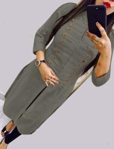 casual-wear-beautiful-grey-color-high-slub-cotton-selfi-kurti