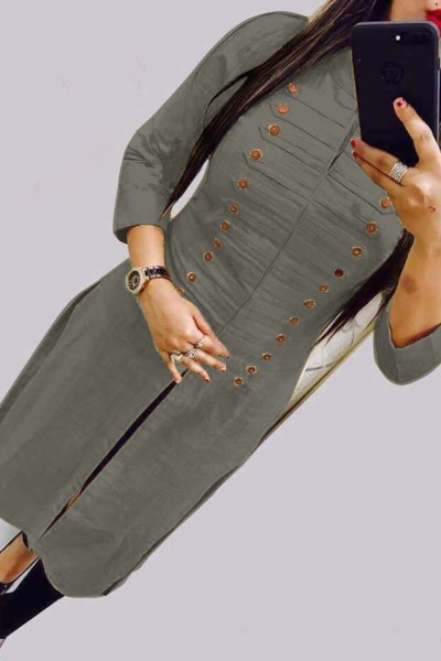 casual-wear-beautiful-grey-color-high-slub-cotton-selfi-kurti