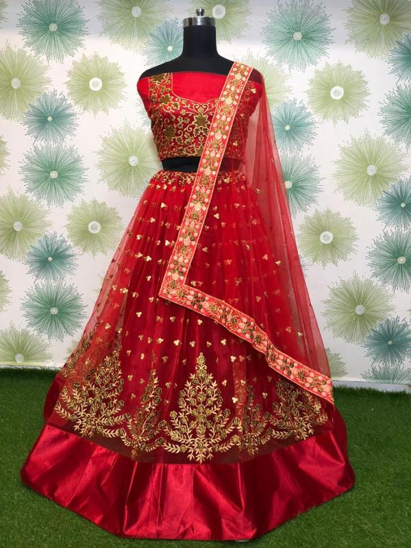 elegant-red-heavy-mono-net-exclusive-wedding-wear-lehenga-choli