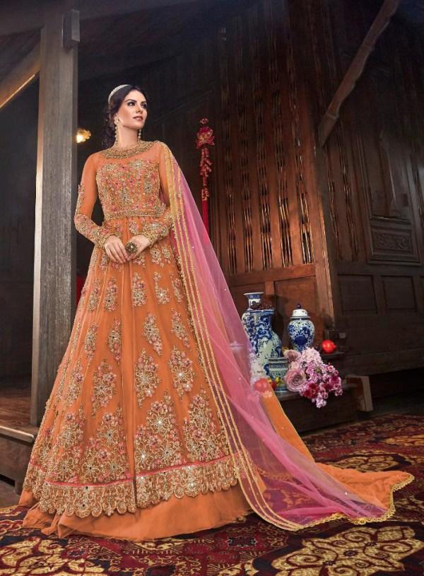immortal-orange-color-vaishnavi-net-with-stone-work-sharara-suit