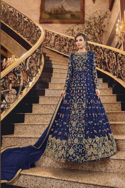 Swagat-Violet-Snowwhite-6301-6312-Series-Bridal-Dresses-Indian-Party-Wear-Dresses-Wholesaler