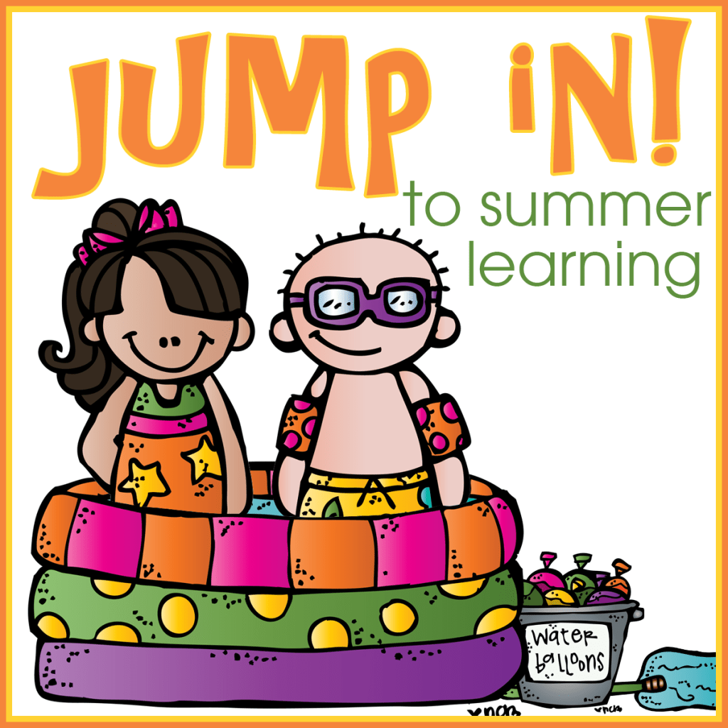 Jump In To Summer Learning Pioneer Theme