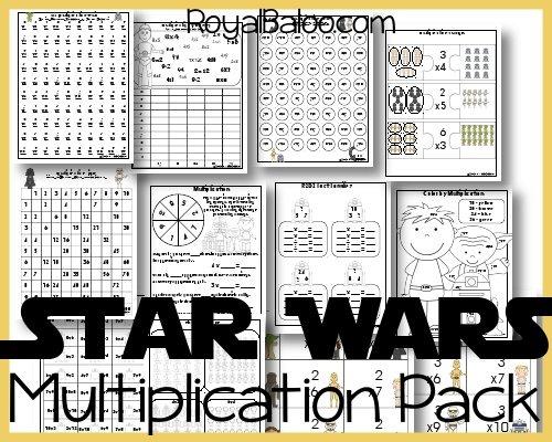 Star Wars Multiplication Pack
