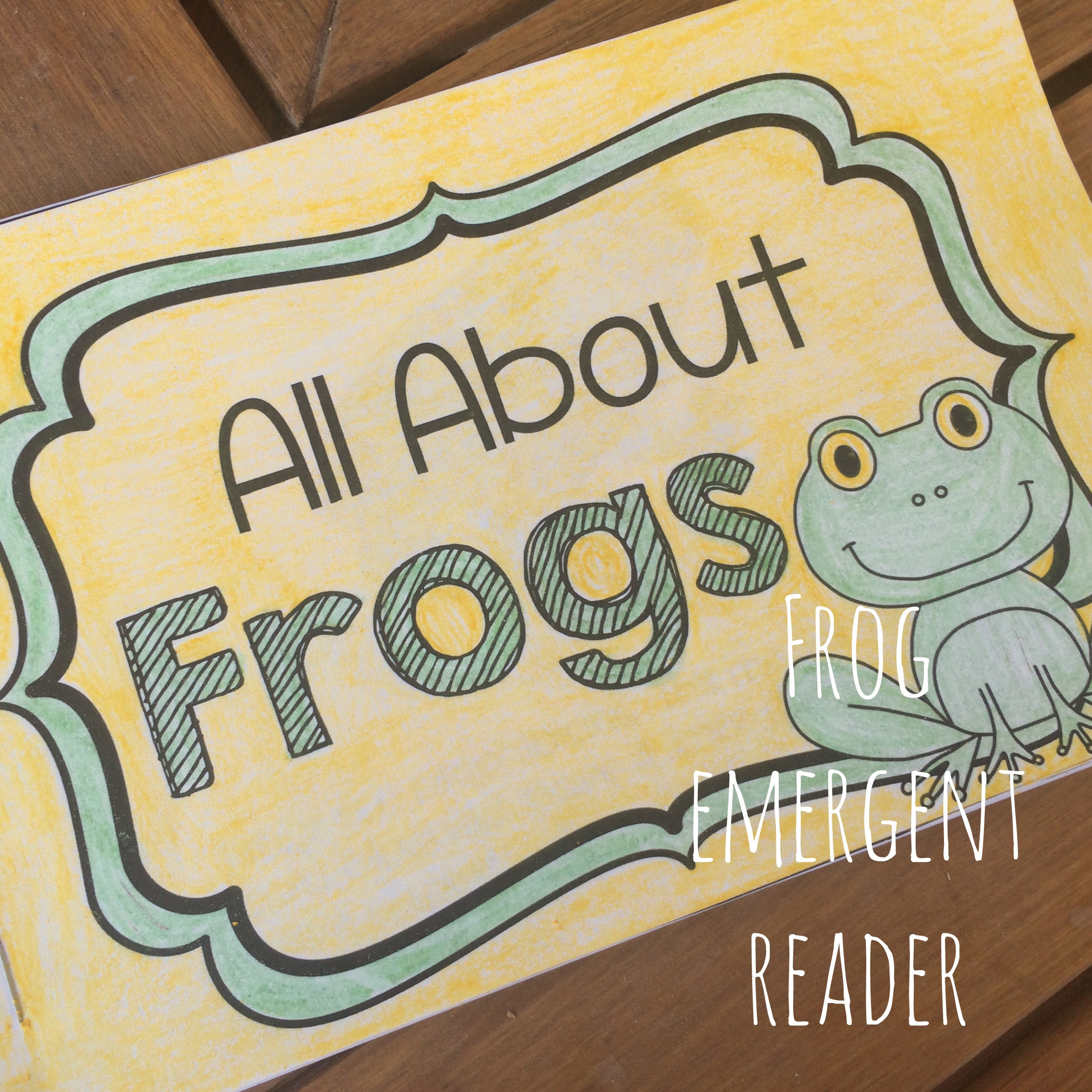 Frog Themed Emergent Readers