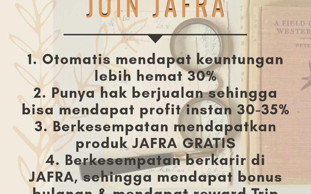 Keuntungan Jadi Member JAFRA