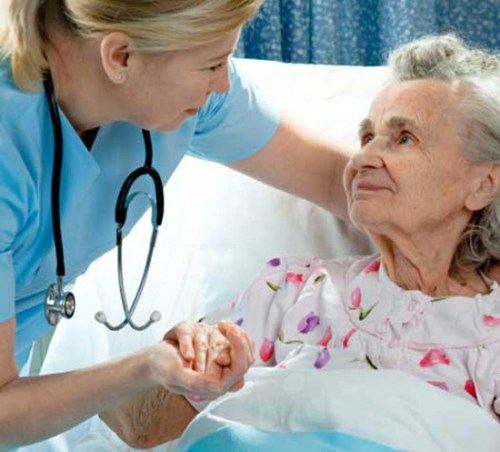 Care for Old Age Parkinson's Disease Patients