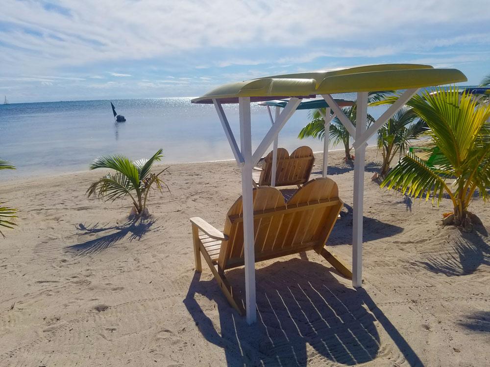 Cabana Caribbean Royal Pedro San Belize Rustic Resort
