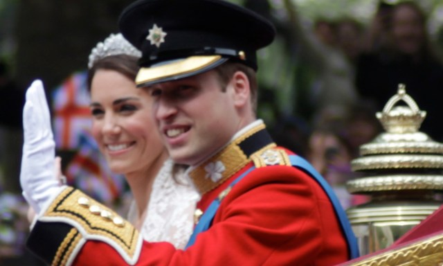 Up close with royal fashion: Kate's wedding lace