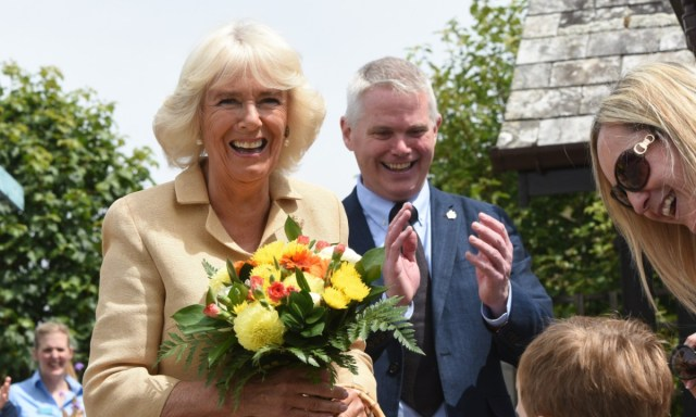 Duchess of Cornwall commemorates golden anniversary of The Donkey Sanctuary