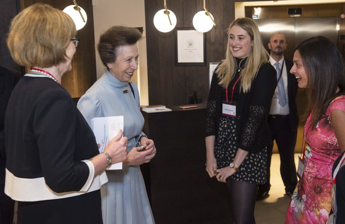 Princess Anne gives the royal seal of approval to a 150-year-old fight for women's equality in education