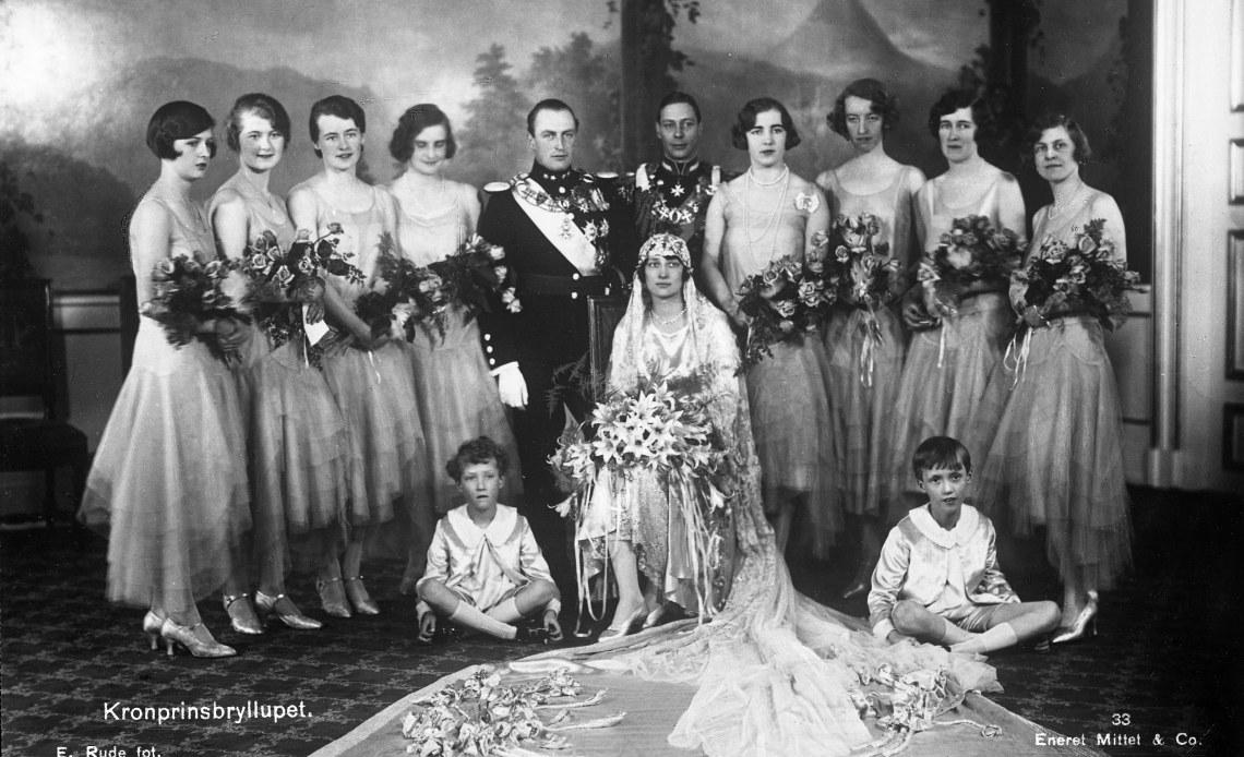 Wedding of Olav and Martha, 1929
