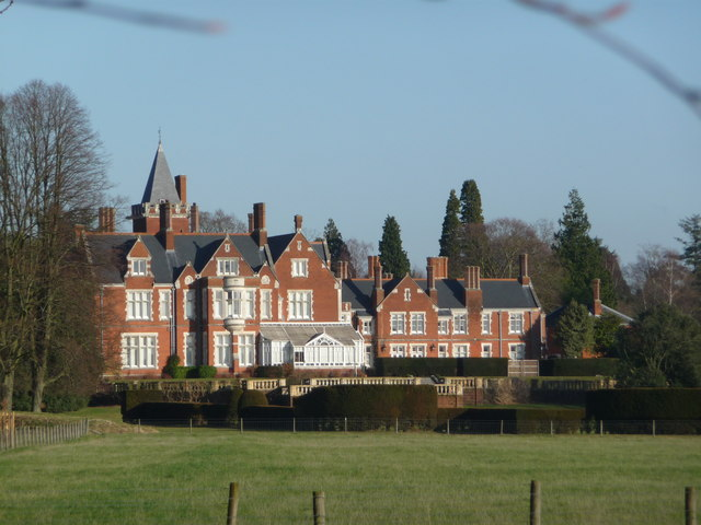 Bagshot Park, home of the Earl and Countess of Wessex