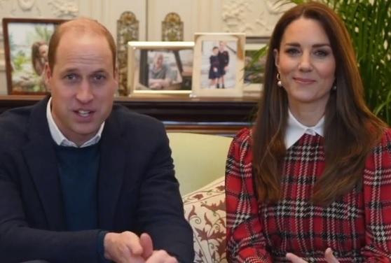 The Duke and Duchess of Cambridge on Burns Night 2021