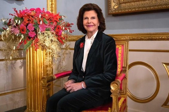 Queen Silvia's portrait for her 77th birthday