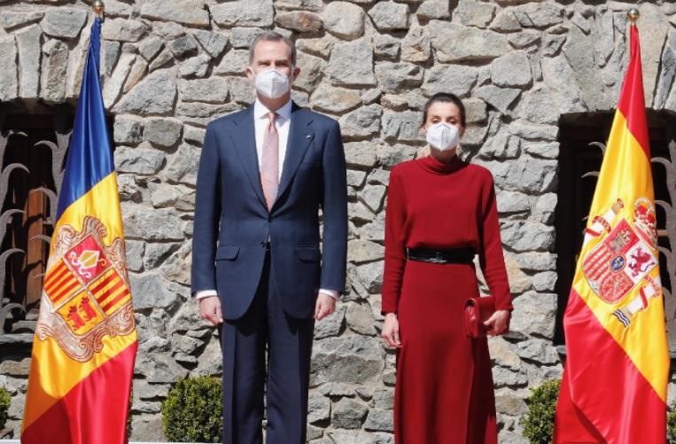 King Felipe and Queen Letizia visit Andorra