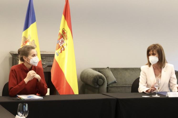 Queen Letizia in Andorra