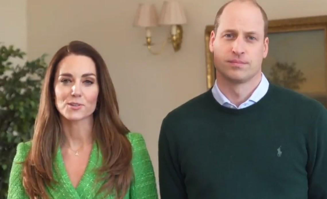 The Duke and Duchess of Cambridge, St. Patrick's Day 2021