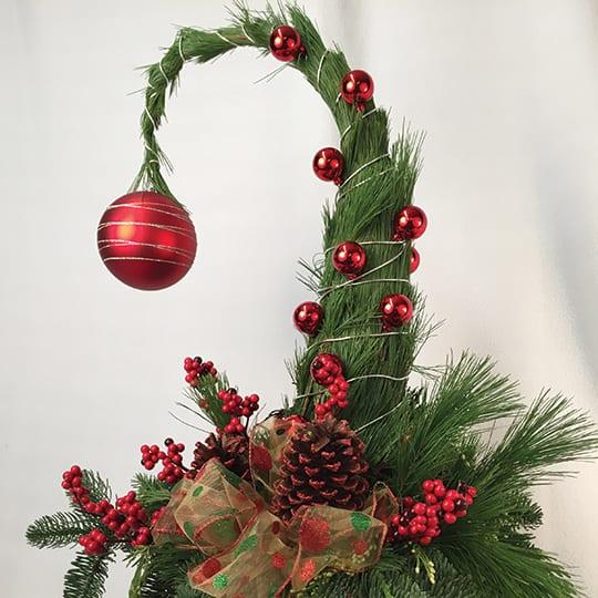 Grinch Christmas Tree Display Nov 9