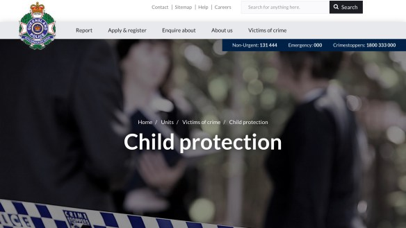 Qld Police - Child protection