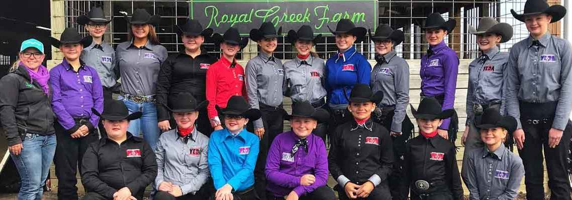 2018-19 Youth Equestrian Team