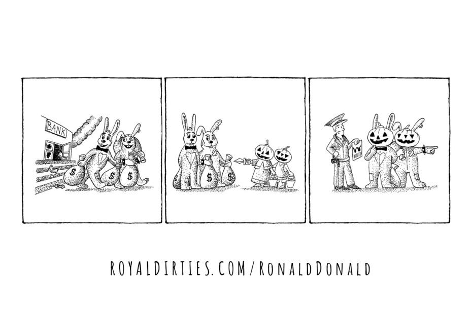 Ronald & Donald: Trick or treat
