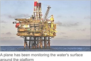 Shell fights spill near North Sea oil platform – Royal Dutch Shell