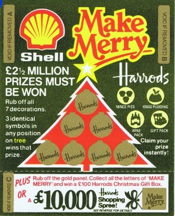 A promotional game devised for Shell by Don Marketing