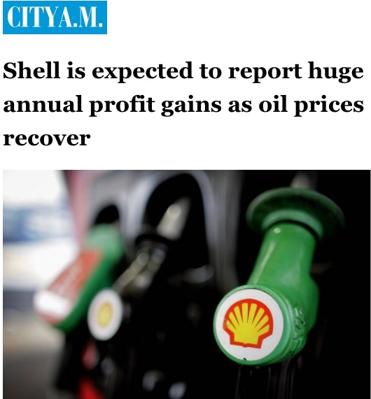 Shell is expected to report huge annual profit gains as oil prices shell is expected to report huge annual profit gains as oil prices recover royal dutch shell group fandeluxe Image collections