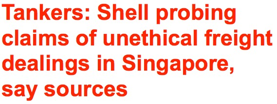 Shell probing claims of unethical freight dealings in singapore say shell probing claims of unethical freight dealings in singapore say sources fandeluxe Image collections