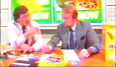 Roger Sotherton (left) and John Chambers, both directors of Don Marketing 1984