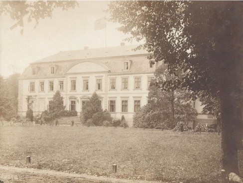 German country home of Sir Henri Deterding of Royal Dutch Shell. Dobbin, Mecklenburg.