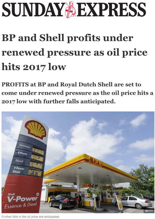 Oil price fixing royal dutch shell plc full article bp and shell profits under renewed pressure as oil price hits 2017 low fandeluxe Image collections
