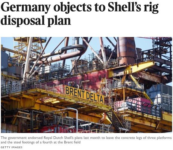 Brent Bravo Scandal – Royal Dutch Shell Plc  com